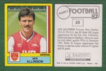 Arsenal Ian Allinson 20